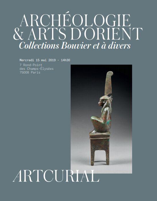 Vente Archéologie, Arts d'Orient chez Artcurial : 314 lots