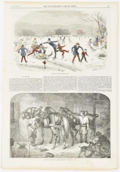 [Graphic arts, paintings & drawings 16th-19th century] [Games and sports] Collection [...]