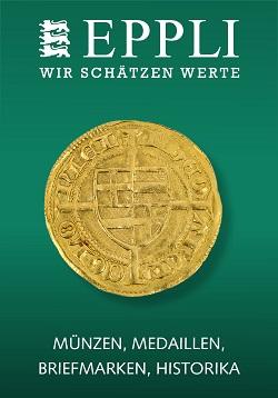 Vente EPPLI MÜNZAUKTION chez Eppli Münzhandel & Auktionen : 259 lots