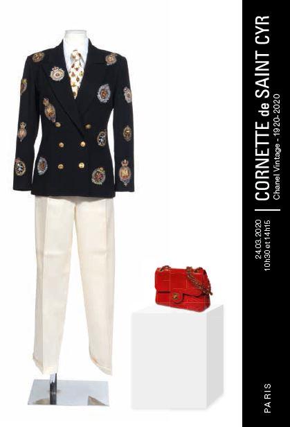 Vente Chanel Vintage - 1920-2020 - Nouvelle date chez Cornette de Saint Cyr Paris : 655 lots