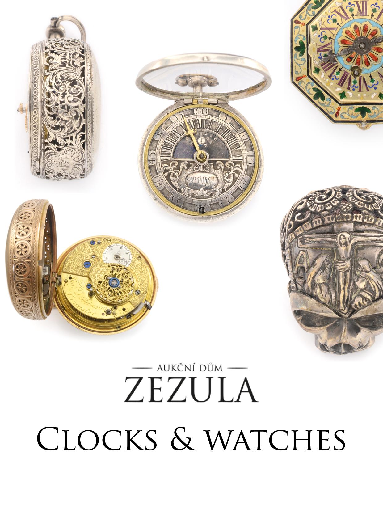 Vente Horloges et Montres chez Auction House Zezula : 204 lots