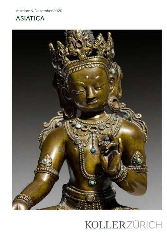Vente Art Asiatique: Himalaya, Chine chez Koller Auctions SA  : 149 lots