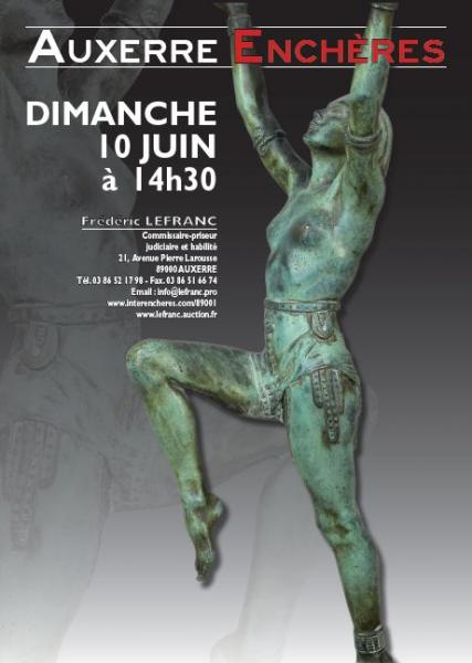 0dc0539d6cf Catalogue de la vente Belle Vente Mobilière à Auxerre Enchères - Fin de la  vente le 10 Juin 2018