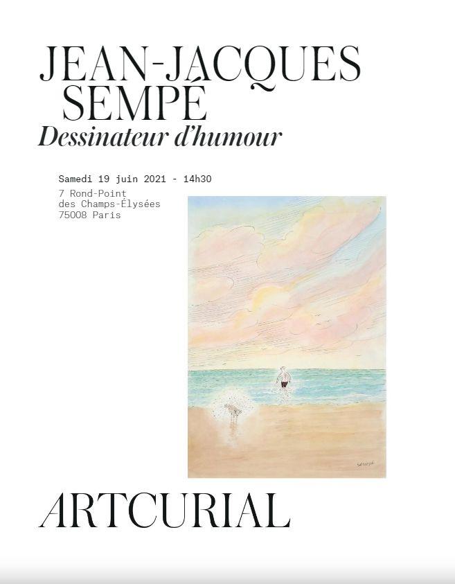 Vente Jean-Jacques Sempé chez Artcurial : 54 lots