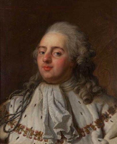 Antoine-François CALLET - Portrait en buste de Louis XVI… | lot 76 |  Tableaux Anciens chez Piasa | Auction.fr