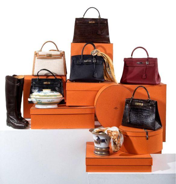 Vente Hermes Vintage chez Cornette de Saint Cyr Paris : 513 lots