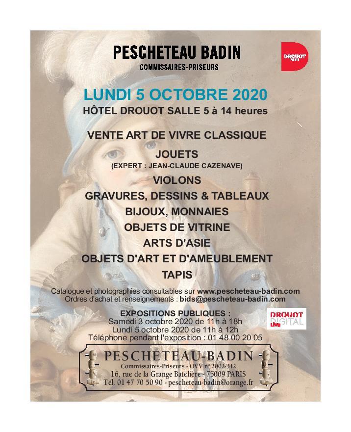 Vente Vente Classique - Jouets chez Pescheteau-Badin : 340 lots