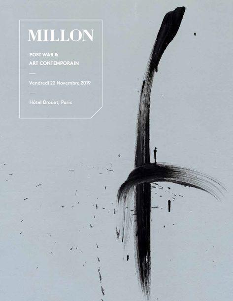 Vente Post War & Art Contemporain chez Millon et Associés Paris : 136 lots