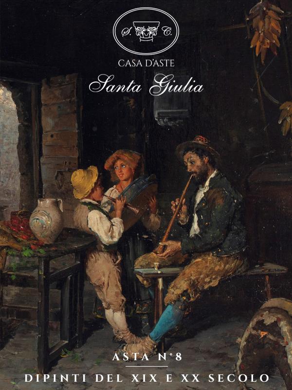 Vente Peintures des XIXème et XXème siècles chez Casa d'Aste Santa Giulia : 115 lots