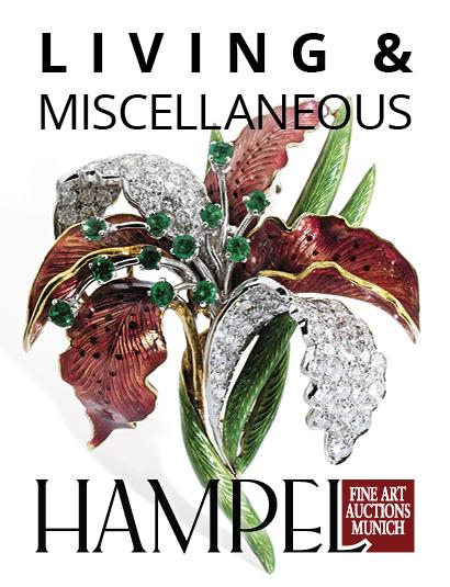 Auction Catalogue V  - Hampel Living at Hampel Fine Art Auctions : 591 lots