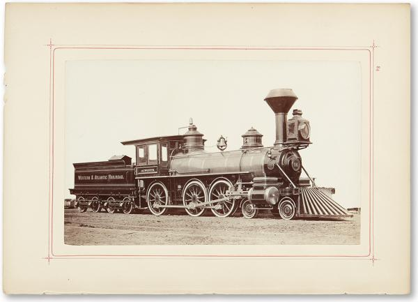 (RAILROADS.) Burnham, Parry, Williams, et al. Baldwin Locomotive Works, Illustrated [...]