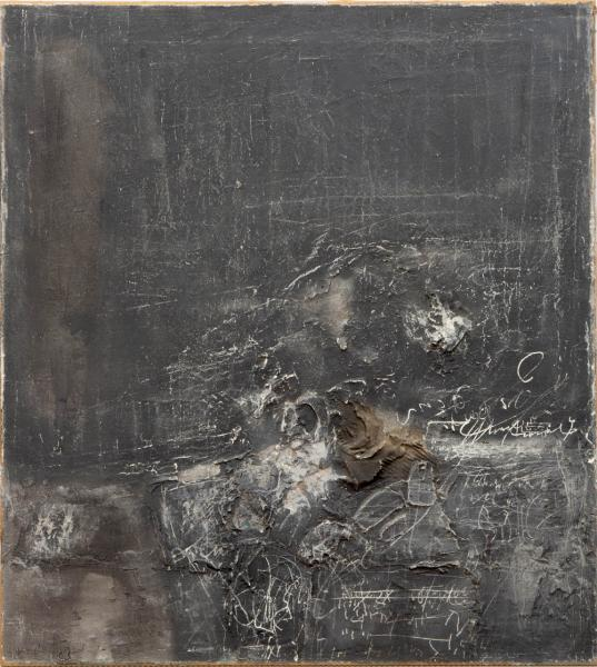 Shlomo Koren (1932-2013) - Untitled, signed 'Koren 63' (lower left), mixed media on [...]