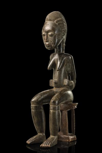 Maternité of the Agba area workshop, around 1920  - Côte d'Ivoire, Baule, Agba [...]