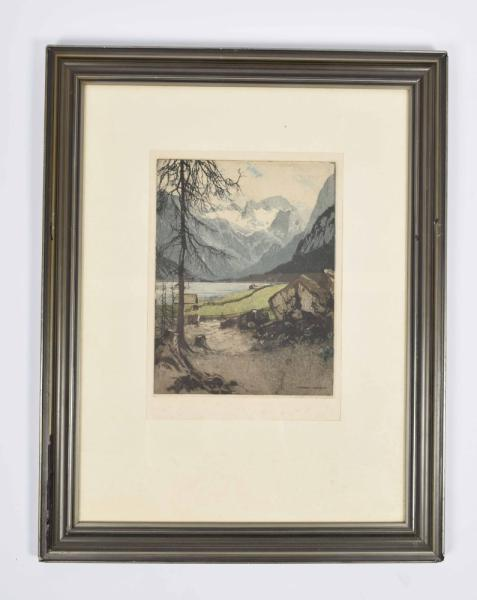 [Fine arts: 20th-century graphic arts (lithography, etchings etc.) part I] Lot with [...]