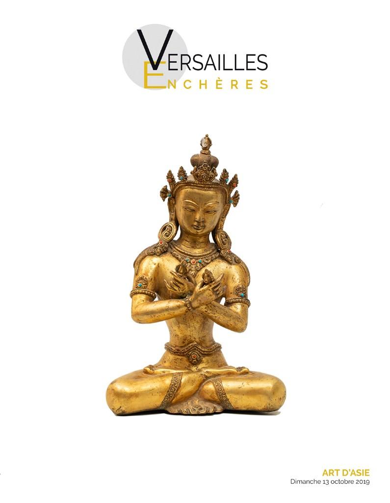 Vente Art d'Asie chez Versailles Enchères  : 152 lots