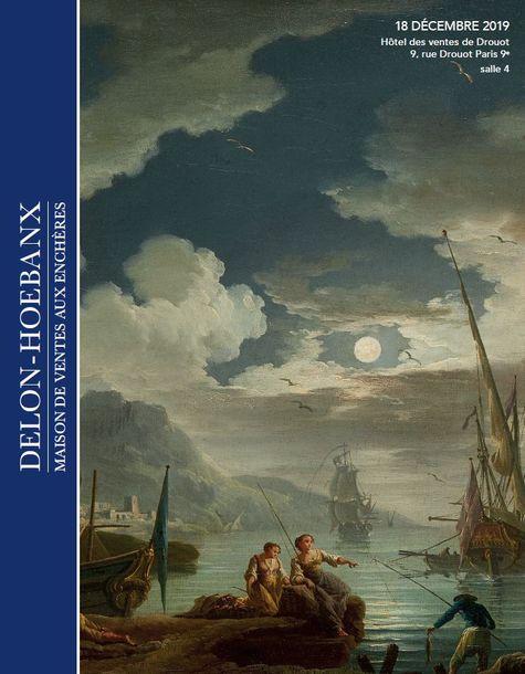 Vente Orfèvrerie de Collection, Dessins, Tableaux Anciens, Objets de Vitrine, Mobilier & Objets d'Art chez Delon-Hoebanx : 438 lots