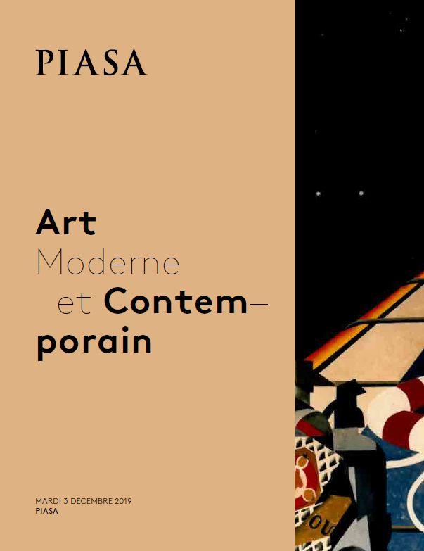 Vente Art Moderne et Contemporain chez Piasa : 97 lots