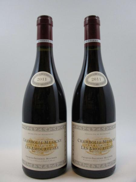 2 bouteilles CHAMBOLLE MUSIGNY 2011 1er cru Les Amoureuses. Domaine [...]