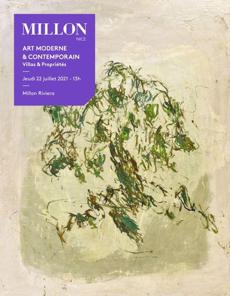 Vente Art Moderne & Contemporain (Nice) chez Millon et Associés Paris : 282 lots