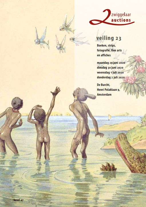 Vente Vente 23 : Echecs, Cartes postales Illustrées, Jouets, WWI & II, Erotica, Affiches, Caméras stéréo et appareils photo chez Zwiggelaar Auctions : 562 lots