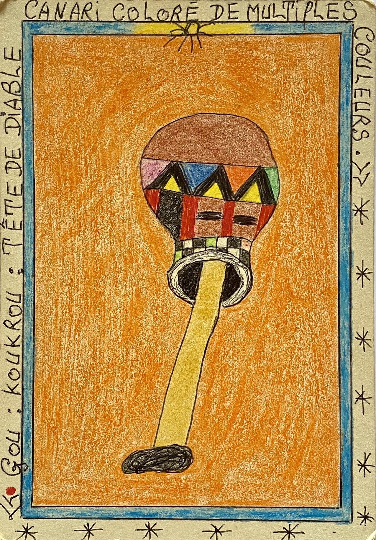 Vente Vente de dessins de l'artiste ivoirien FREDERIC BRULY BOUABRÉ chez Shine a Lot : 53 lots