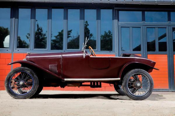 1925 - SALMSON VAL 3 - Châssis numéro 10759 Moteur numéro 10759 Carte grise ... | lot 102 ...