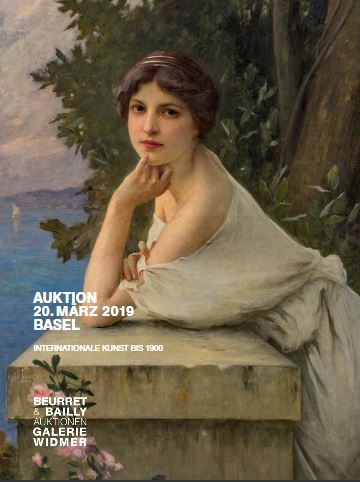 Vente Art Suisse / Art international avant 1900 chez Beurret Bailly Widmer Auktionen AG : 442 lots