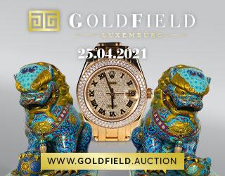 Vente Successions Luxembourgeoises : Montres, Bijoux, Art d'Asie, Antiquités et objets de collection chez Goldfield : 73 lots