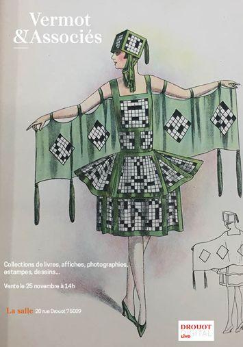 Auction Livres, Estampes, Affiches, Photographies, Vieux Papiers...  at Vermot et Associés : 376 lots