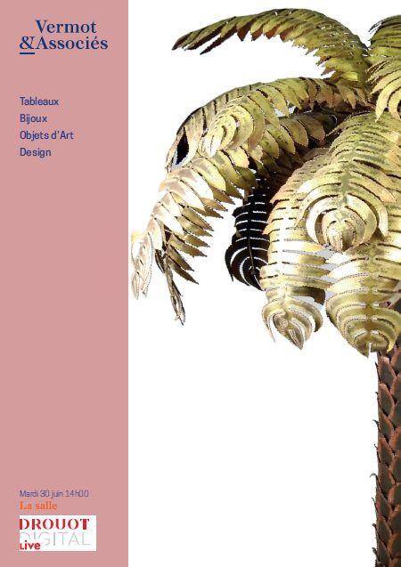 Vente Tableaux, Bijoux, Objets d'Art, Design chez Vermot et Associés : 346 lots