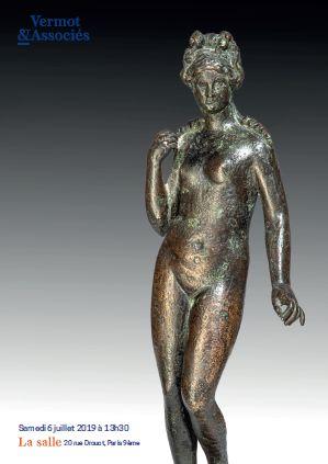 Vente Archéologie Méditerranéenne, Asie, Arts Islamiques, Arts Premiers, Entomologie, Curiosités chez Vermot et Associés : 663 lots