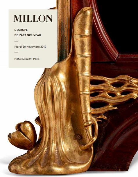 Vente L'Europe de l'Art Nouveau chez Millon et Associés Paris : 178 lots