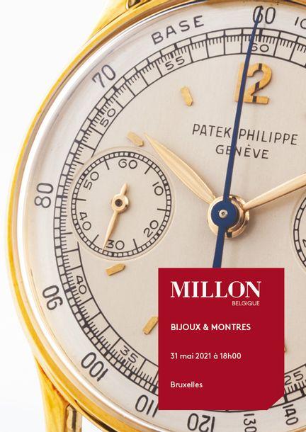 Auction Montres et Bijoux at Millon Belgique : 275 lots