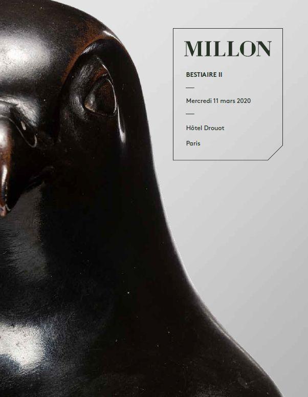 Vente Bestiaire II chez Millon et Associés Paris : 127 lots