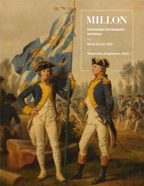 Vente Souvenirs Historiques & Militaria chez Millon et Associés Paris : 442 lots