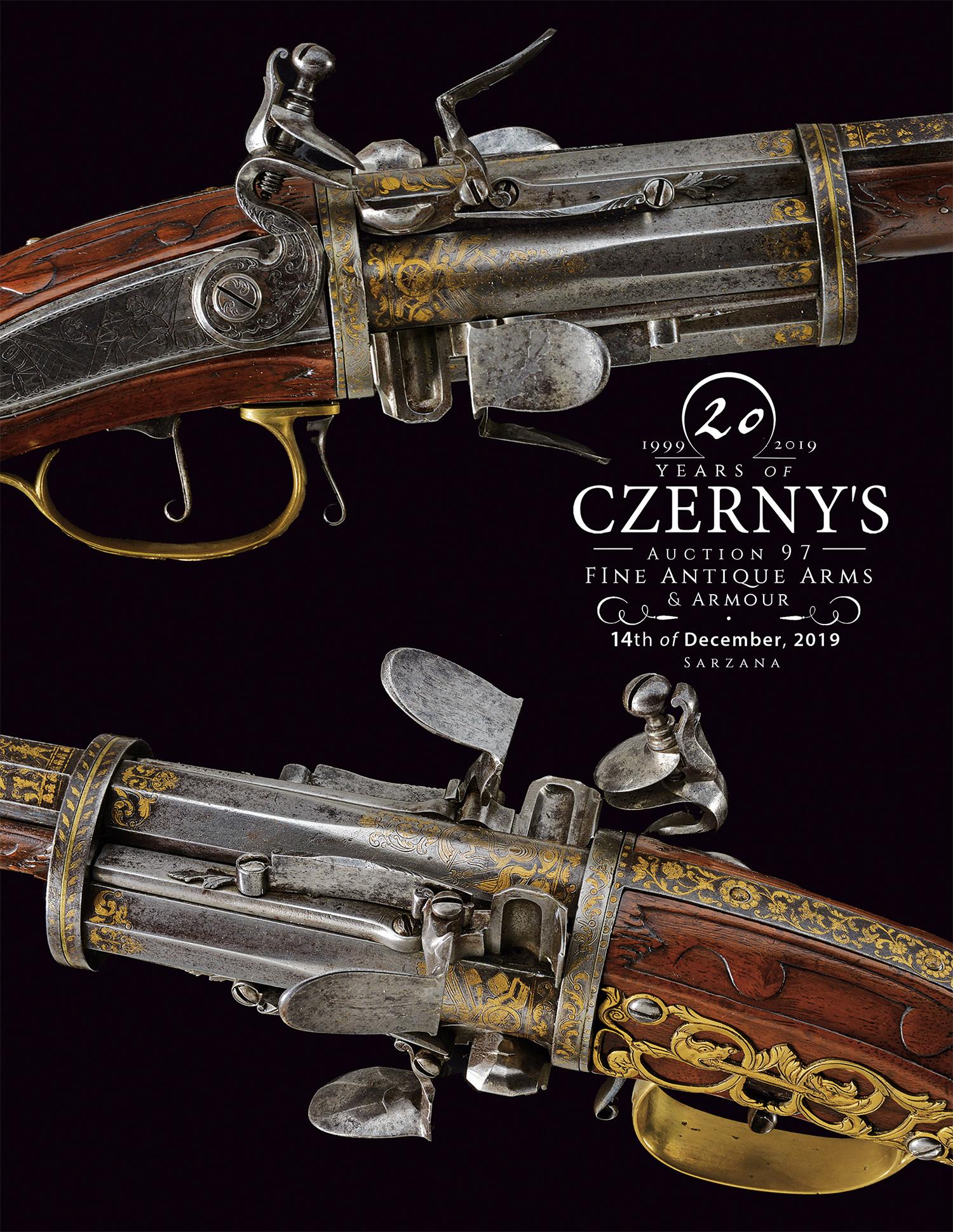 Vente Belles Armes Antiques & Armures chez Czerny's : 1025 lots