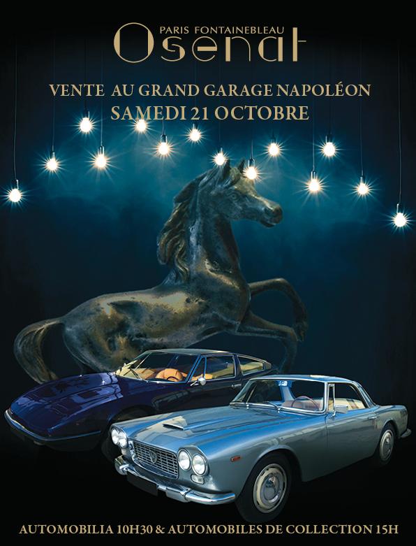 Vente Automobilia & Automobiles de Collection  chez Osenat : 307 lots