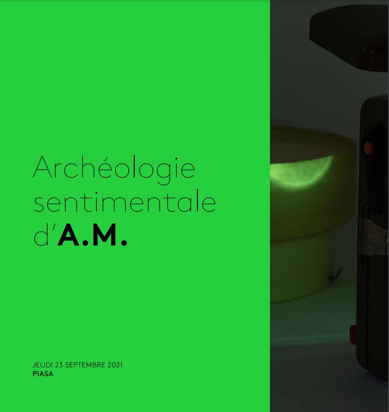 Vente Archéologie sentimentale d'A.M. - Art Contemporain chez Piasa : 153 lots