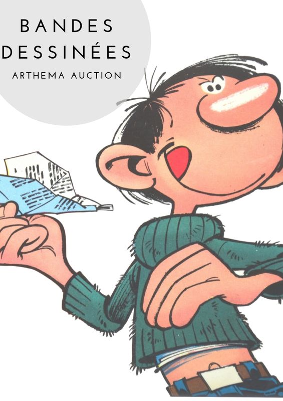 Vente Albums et Figurines de Bandes Dessinées  chez Arthema Auction : 284 lots