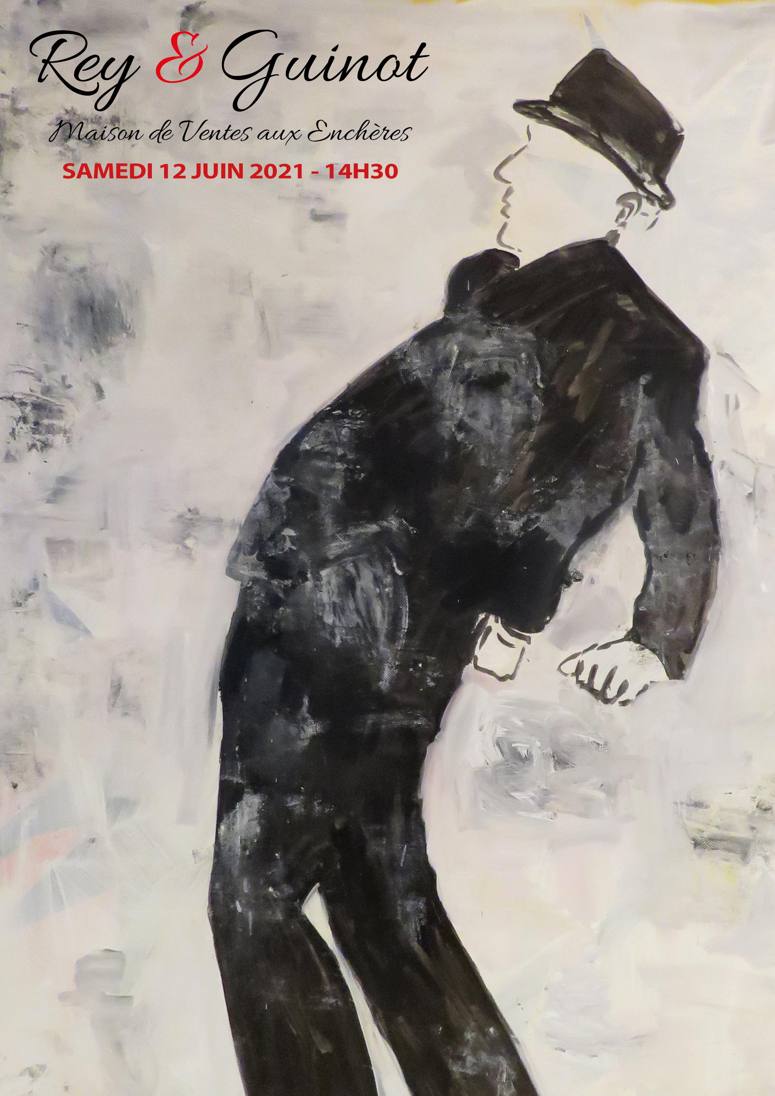 Vente Art Moderne et Contemporain - Collection d'un amateur & à divers chez SAS Rey & Guinot – Le Chesnay Enchères : 156 lots