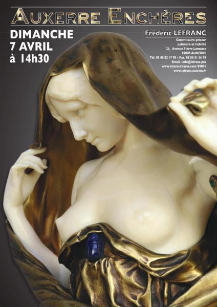 d5ca1b44dc1 Catalogue de la vente Belle Vente Mobilière à Auxerre Enchères - Fin de la  vente le 07 Avril 2019