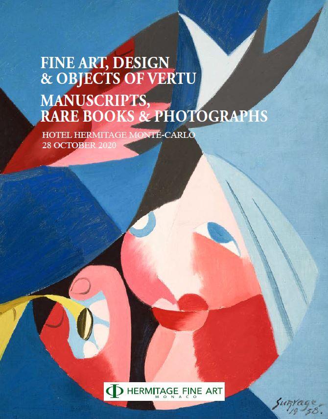 Vente Fine Art & Objects of Vertu chez Hermitage Fine Art : 103 lots
