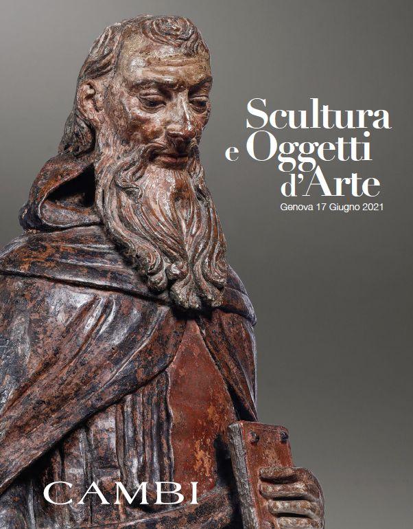 Vente Sculptures et Oeuvres d'Art  (Genova) chez Cambi Casa d'Aste : 103 lots