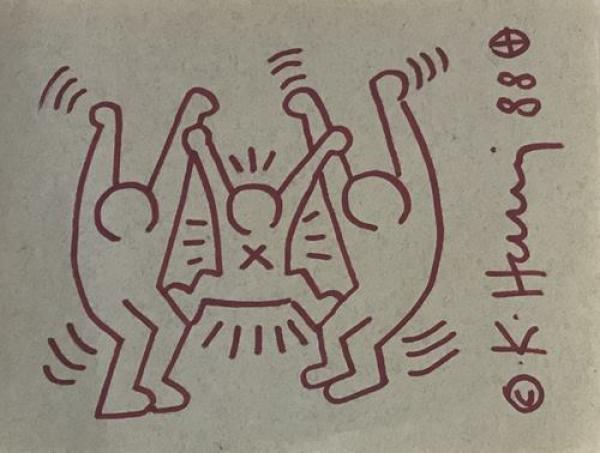 7cbd83bf8dc Catalogue de la vente Keith Haring