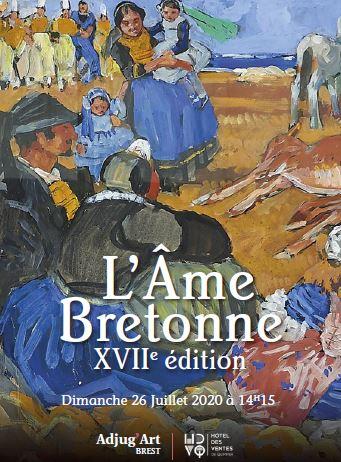 Vente L'AME BRETONNE VIIème édition   chez Adjug'art : 392 lots