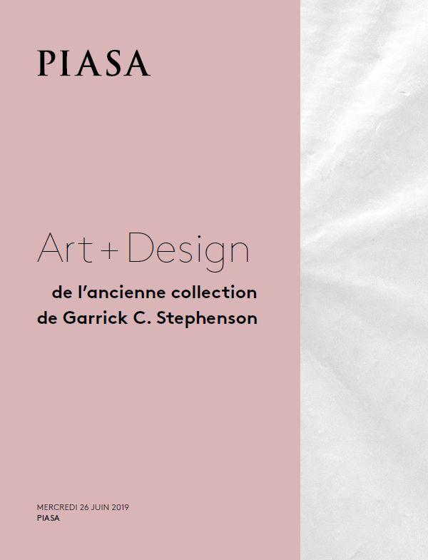 Vente Art + Design, de l'Ancienne Collection de Garrick Stephenson et Selected Design chez Piasa : 156 lots