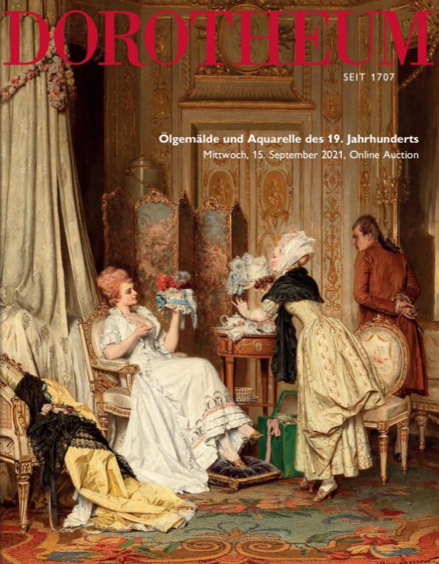 Vente Peintures et Aquarelles du XIXème siècle chez Dorotheum GmbH & Co KG : 221 lots