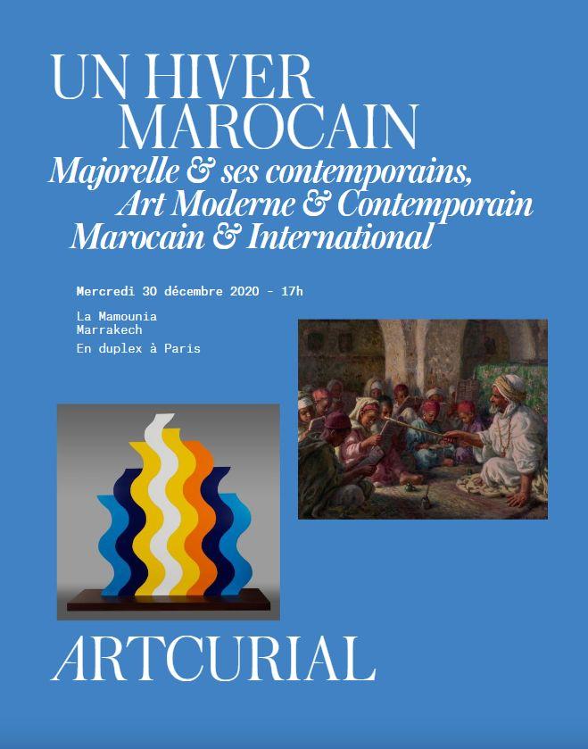 Vente Un Hiver Marocain - Majorelle et ses Contemporains - Art Moderne & Contemporain Marocain et International (Marrakech) chez Artcurial : 108 lots