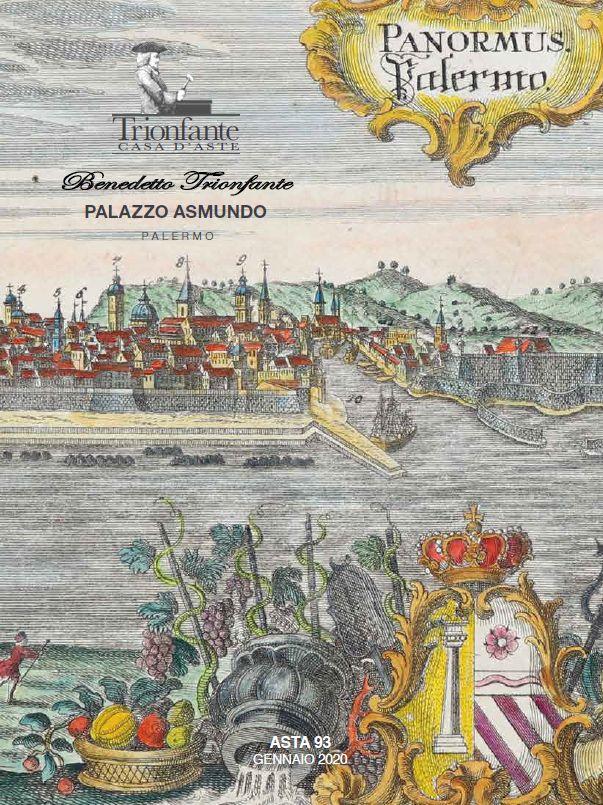 Vente Gravures, Livres, Numismatique, Philatélie, Argenterie, Tapis, Objets d'Art, Mobilier chez Benedetto Trionfante Casa d'Aste SRL : 216 lots