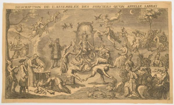 [Graphic arts, paintings & drawings 16th-19th century] [Occultism. Witchcraft] [...]